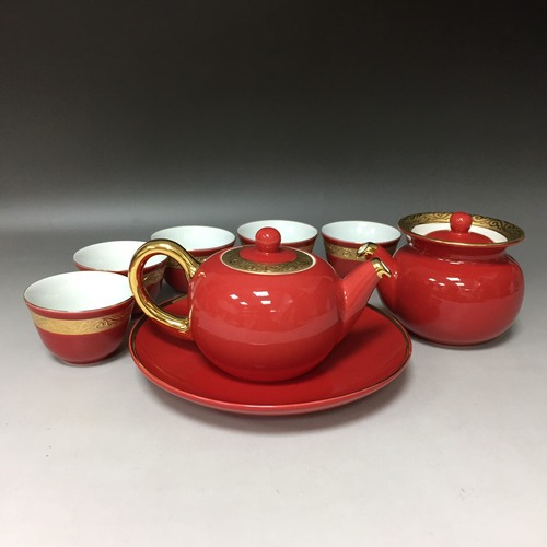 喜事連連壺組<br>Continuous Joyful Events Pot Set  |茶商品|瓷器茶具|壺組